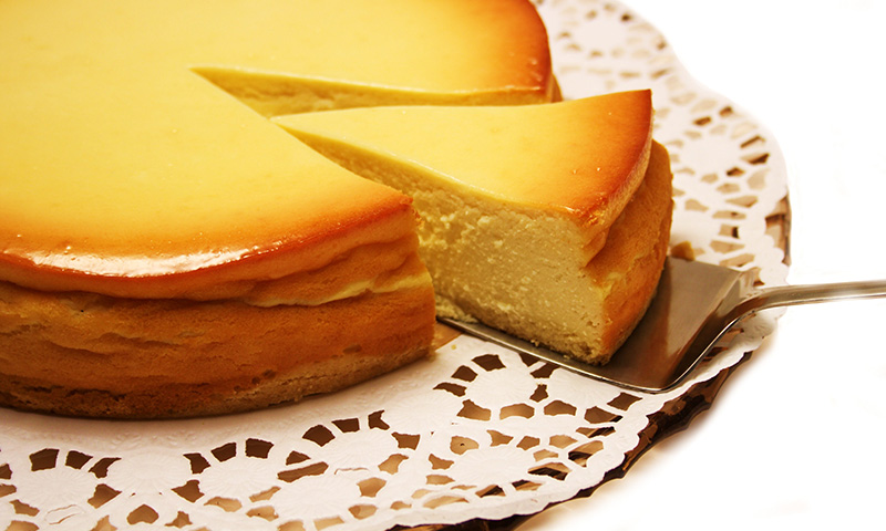 Tarta de queso al horno a la gallega una exquisitez