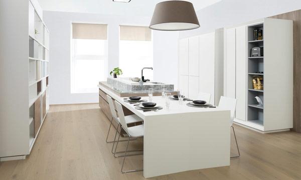 Ideas prcticas para comer o montar un office en la cocina