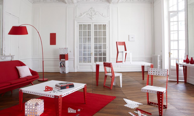 En decoracin apuesta al rojo  Foto