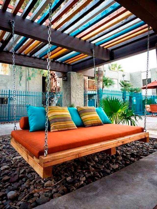 Ideas para decorar tu jardn patio o terraza con palets