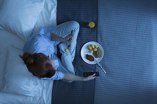 Psicologa El sndrome del comedor nocturno es el que te