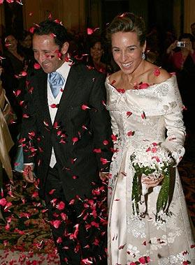 El torero Csar Rincn se casa en Madrid