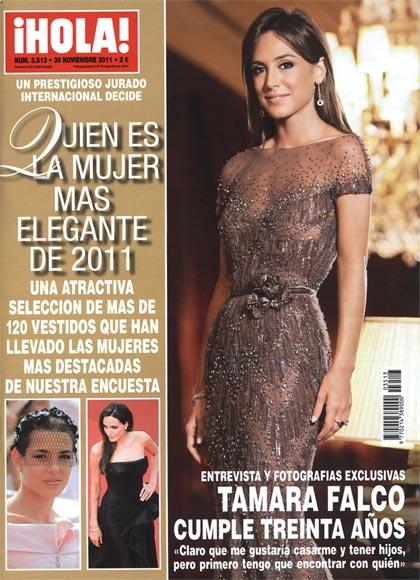Entrevista y fotografas exclusivas en HOLA Tamara