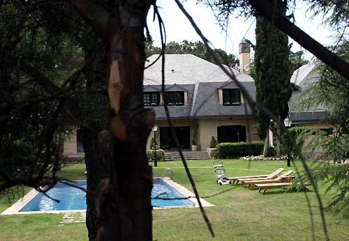 La casa en la que vivirn David Bustamante y Paula