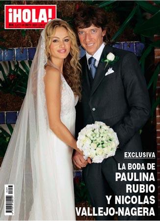 Todos los detalles de la boda de Paulina Rubio y Nicols