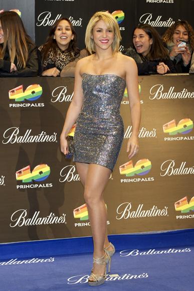 El nuevo look de Shakira la emocin de Pablo Alborn y
