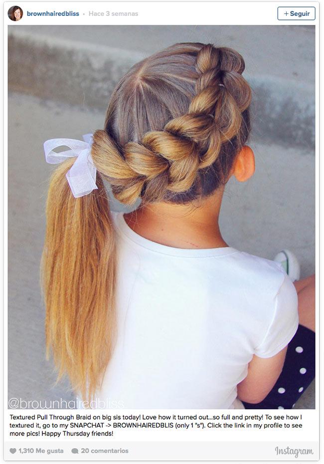 Exquisito peinados con trenzas para niñas Imagen De Consejos De Color De Pelo - 11 peinados con trenzas especiales para las niñas durante ...