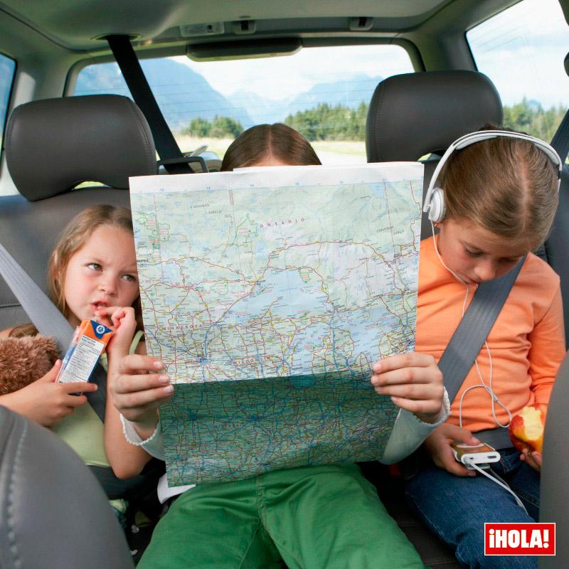 Tips para hacer un viaje largo en coche con los nios  Foto