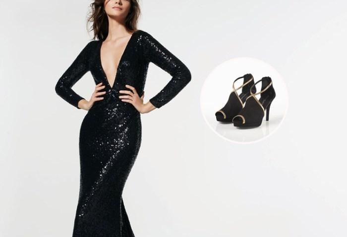 8 Looks Con 8 Zapatos Cómo Combinar Tus Vestidos De Fiesta Foto
