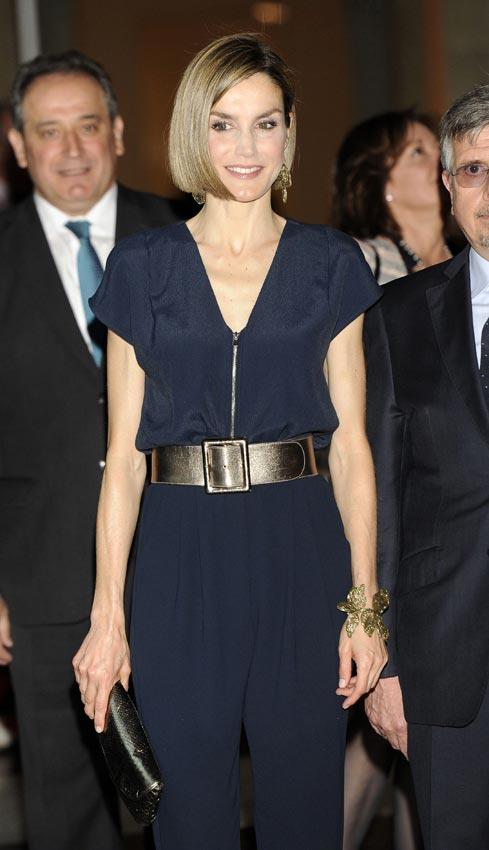 La reina Letizia sigue las huellas de doa Sofa en su