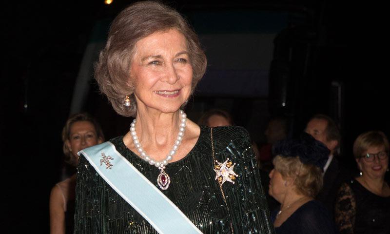 La reina Sofa cumple 78 aos volcada como siempre en su