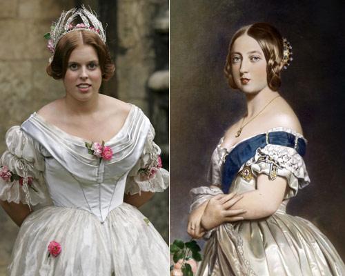 A qu antepasadas se parecen las princesas Beatriz y Eugenia