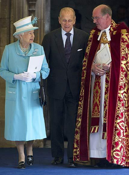 El duque de Edimburgo celebra su 90 cumpleaos acompaado por la Familia Real britnica al completo