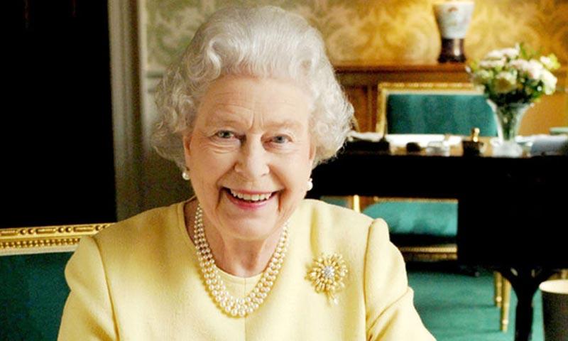 El hito del cumpleaos de Isabel II de Inglaterra