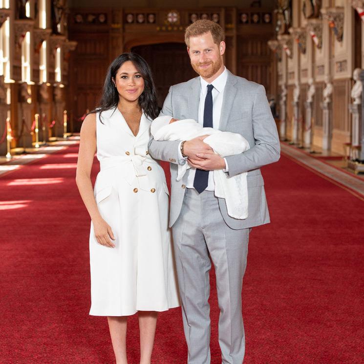 Meghan Markle y el prncipe Harry presentan a su primer hijo