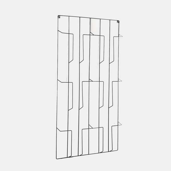 Magazine rack wall