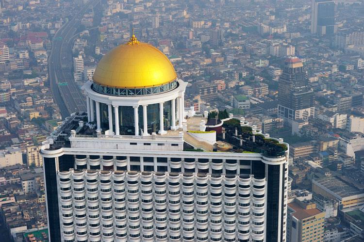 Seis terrazas de Bangkok donde cenar o tomar una copa