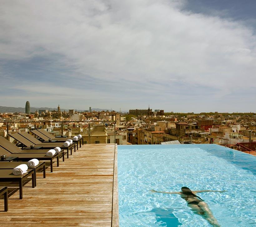 Diez baos celestiales piscinas en azoteas de hoteles
