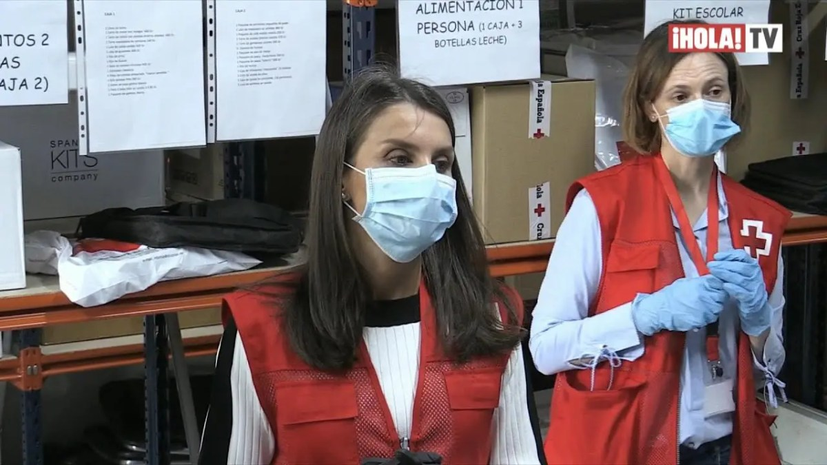 La reina Letizia se apunta como voluntaria de la Cruz Roja Española | ¡HOLA! TV