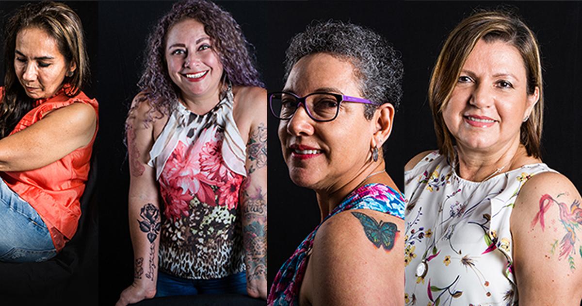 Las mujeres grandes también se tatúan