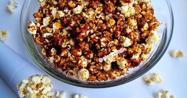 Quick Homemade Caramelized Popcorns