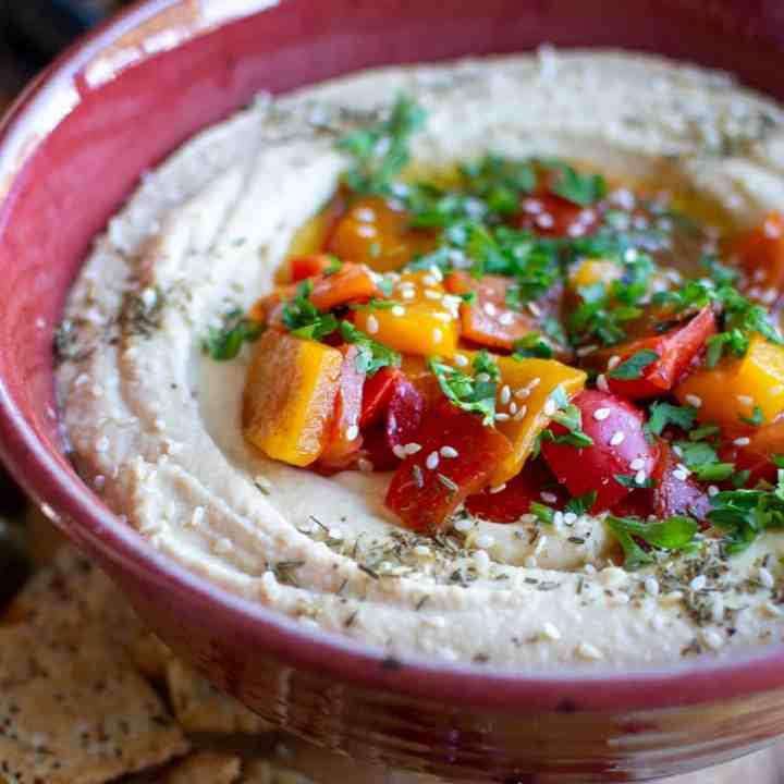 Super Quick Hummus Recipe