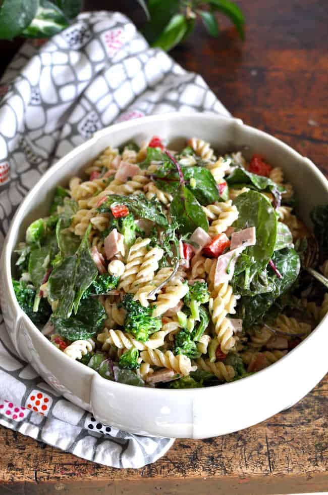 Ham and Broccoli Pasta Salad Recipe
