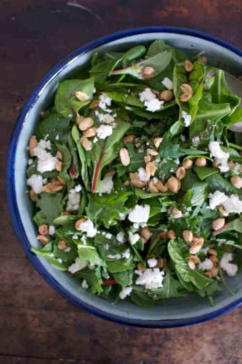 Kale Salad with Peanuts