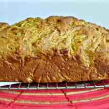How to make tender, delicious zucchini bread without any added fat by using mashed ripe avocado instead of butter or oil.