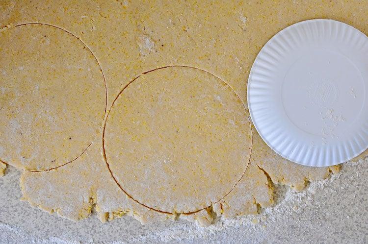 Coconut Cornmeal Crust