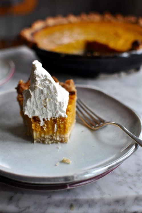 Buttermilk Pumpkin Pie with