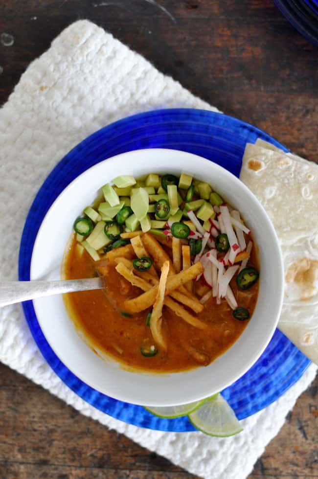 Leftover Turkey Tortilla Soup Recipe