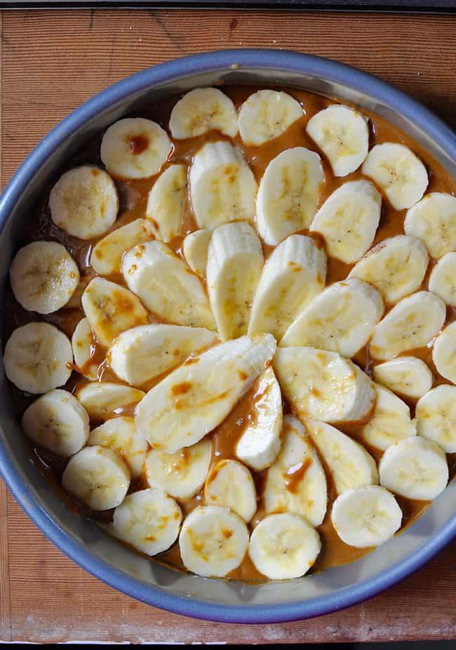 Bananas Foster Upside Down Cake Recipe