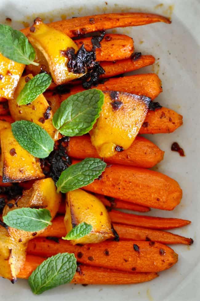 Honey Chipotle Roasted Carrots Recipe