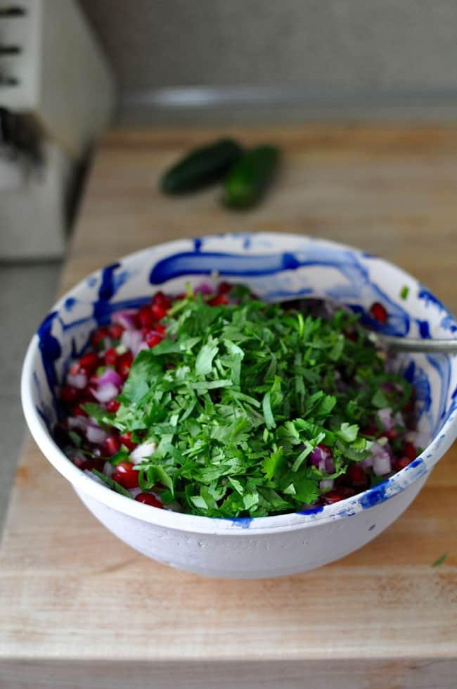 Pomegranate Salsa Recipe