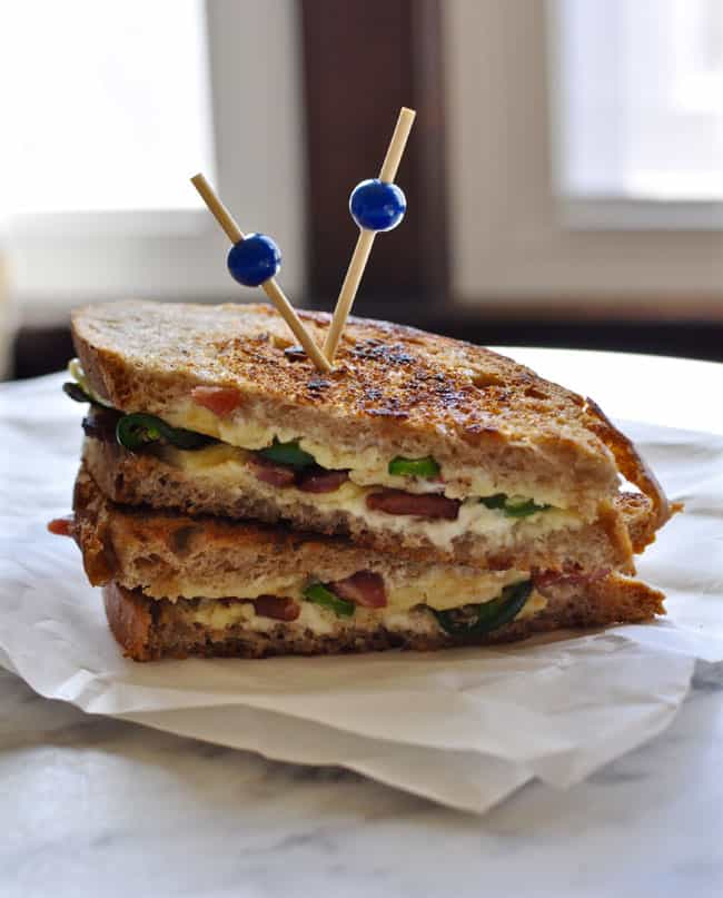 Jalapeno Popper Grilled Cheese Recipe