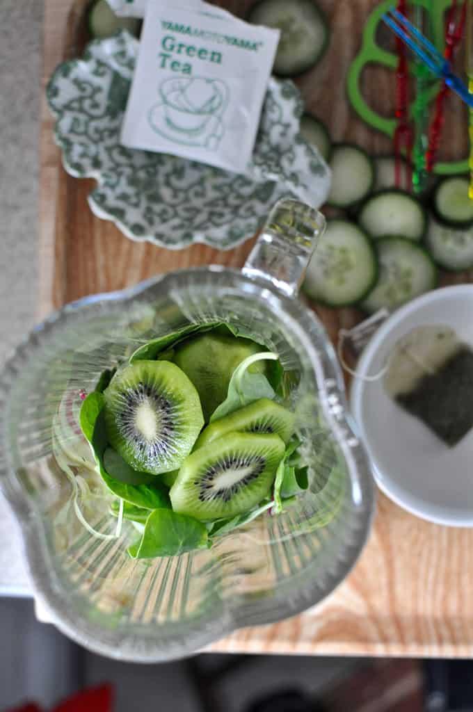 Green Tea Smoothie Recipe