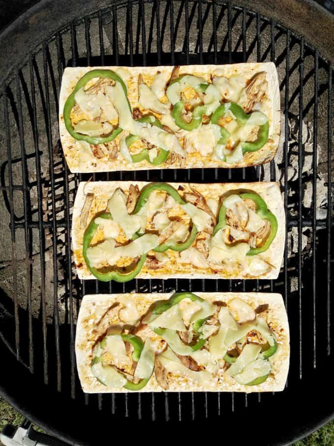 Grilled Chipotle Chicken Pizza Recipe
