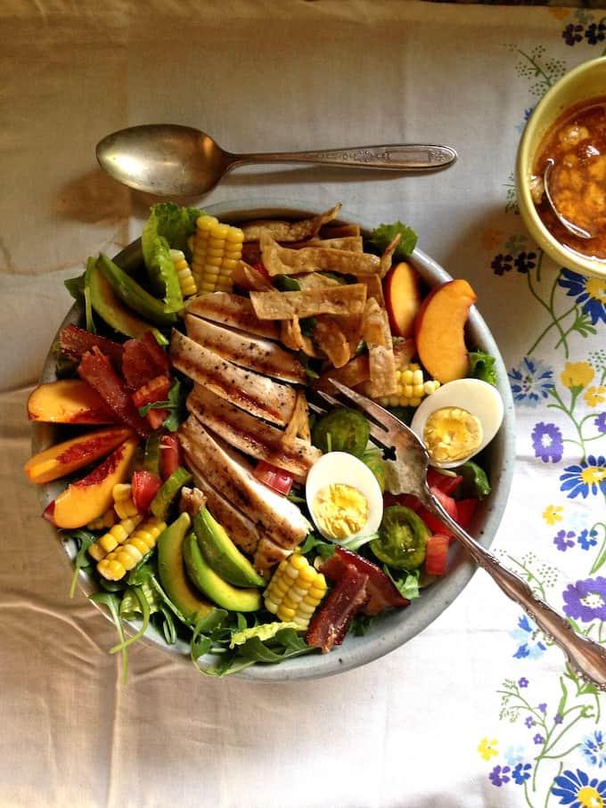 Mexican Summer Cobb Salad Recipe