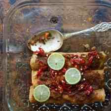 Freezer-Friendly Picadillo Enchiladas Recipe
