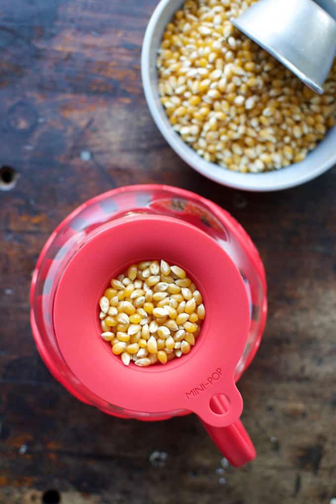 Smoked Maple Butter Popcorn with Habanero Salt Recipe