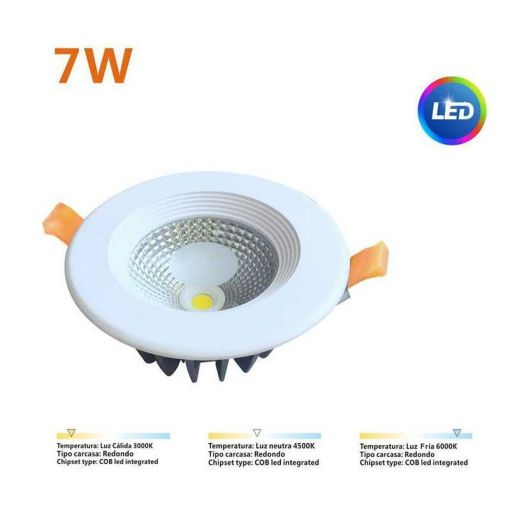 Downlight LED 7W Comercial
