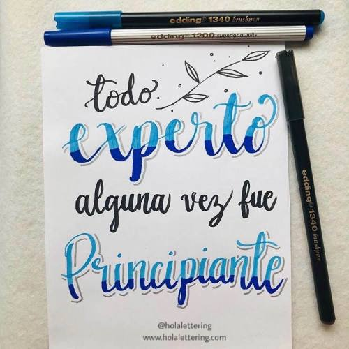 lettering con sombras