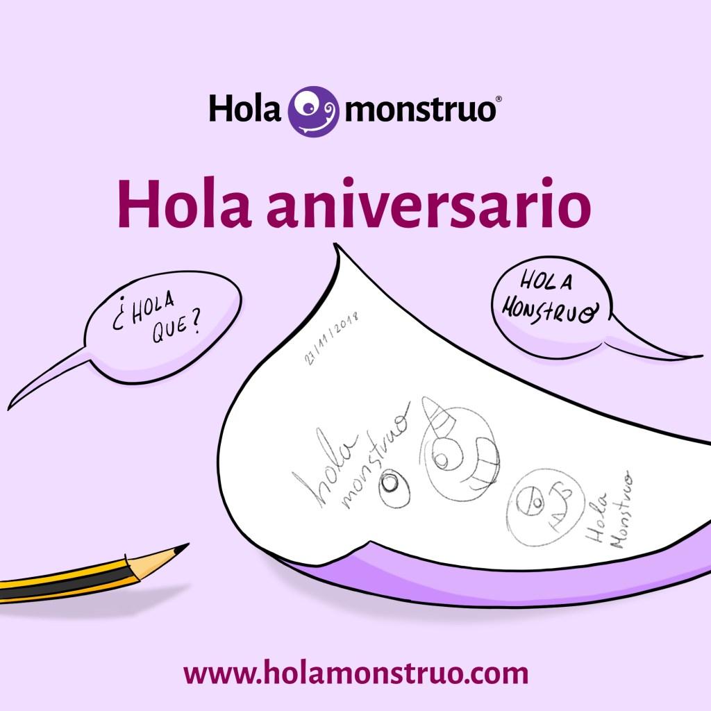 Hola aniversario I