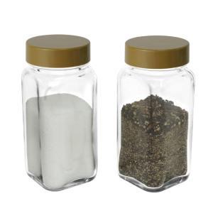 SP-06INJ Glass Spice Jars – Brown Cap