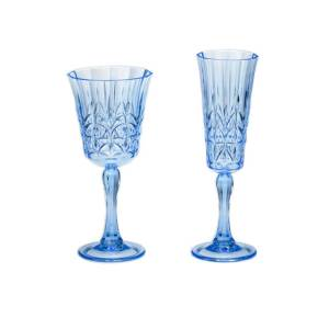 AW-015 AW-016 Royal Blue Drinking Glass