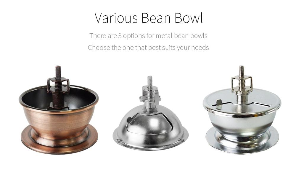 Bean bowl for store coffee bean