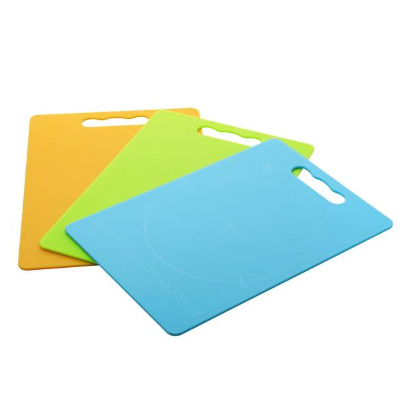 HJ-2028 cutting board with Easy-Grip Handles