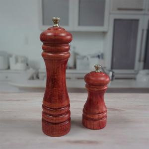 Yellow and Pink Noble Slim Pepper Mill