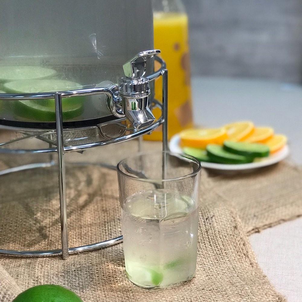 HOLAR TA-GD Juice Drink Beverage Dispenser - 8